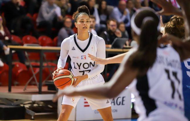 Alysha Clark a été la meilleure marqueuse lyonnaise durant la saison régulière avec 13 points de moyenne.