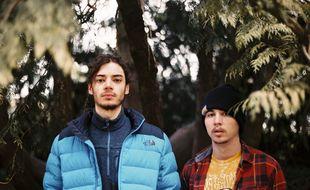 Lujipeka et FodaC ont fondé le groupe de rap Columbine au lycée Bréquigny de Rennes.