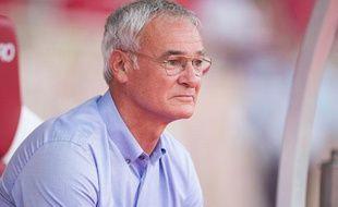 L'entraîneur de l'AS Monaco Claudio Ranieri le 4 août 2013.