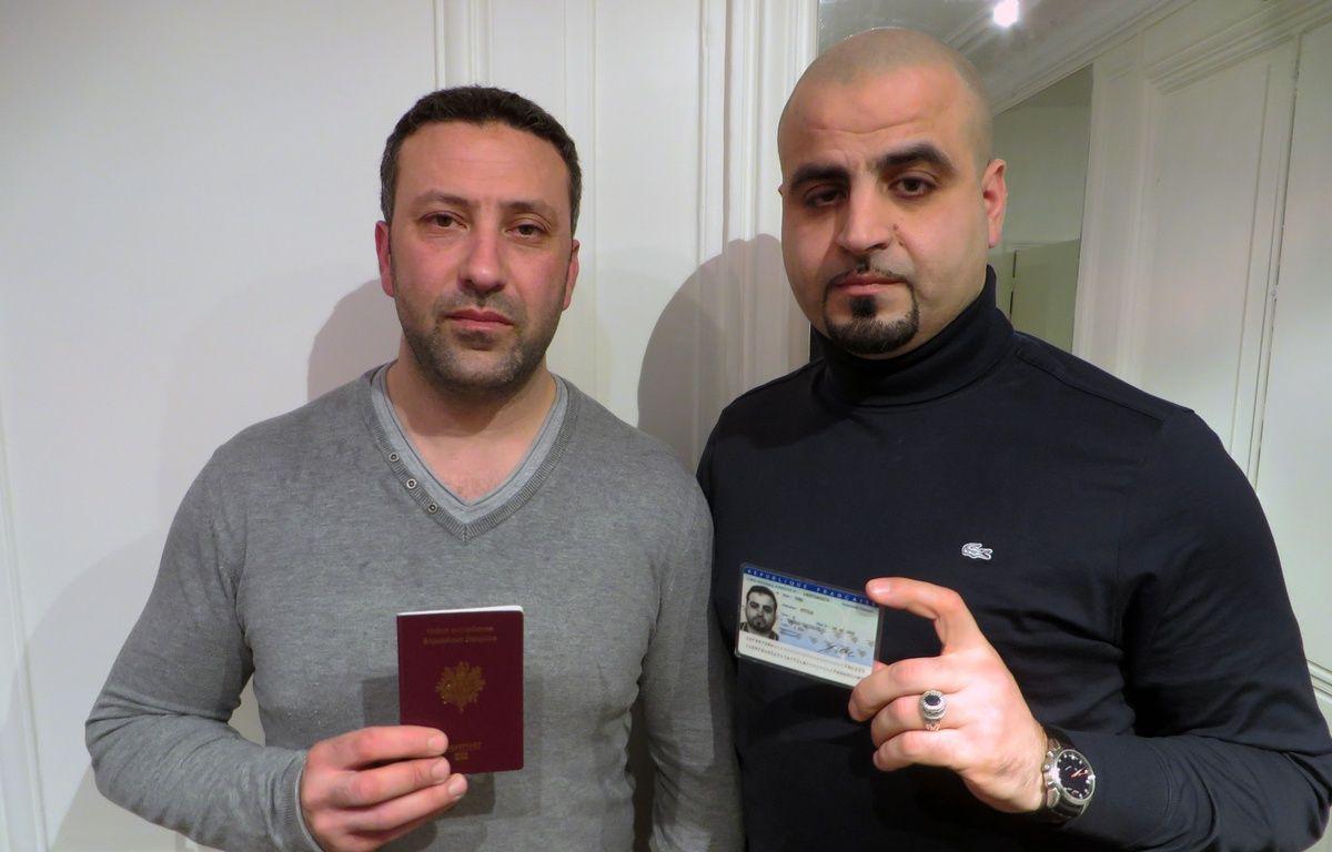 Fouad et Attila, déchus de la nationalité française, à Paris le 15 février 2016. – Vincent Vantighem/20 Minutes