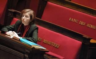 Florence Parly, la nouvelle ministre des Armées, ici en 2001 quand elle était secrétaire d'Etat au Budget.