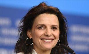 L'actrice française Juliette Binoche à Berlin, le 5 février 2015