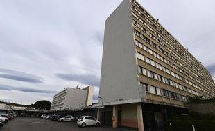 La cité du Parc Kalliste, dans le 15e arrondissement de Marseille.