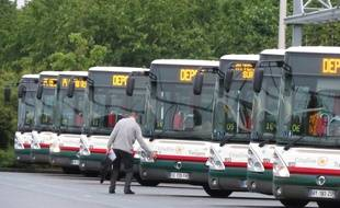 Sequedin, le 2 juin 2015 - Visite de l'un des trois dépôts de bus Transpole de la métropole lilloise