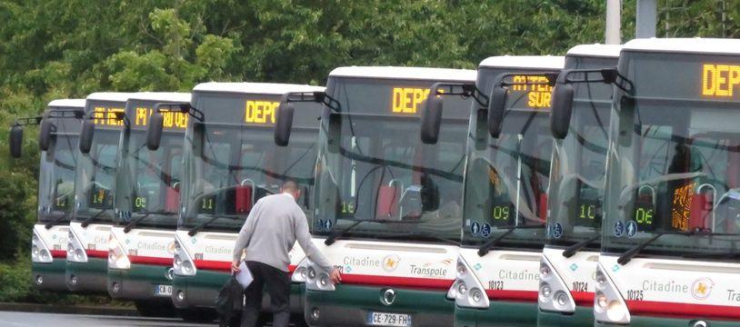 Illustration des bus Transpole de la métropole lilloise
