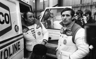 Claude Brasseur et Jacky Ickx (image Belga)