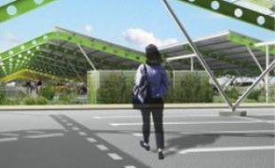 Le parking du parc seraéquipé en 2010