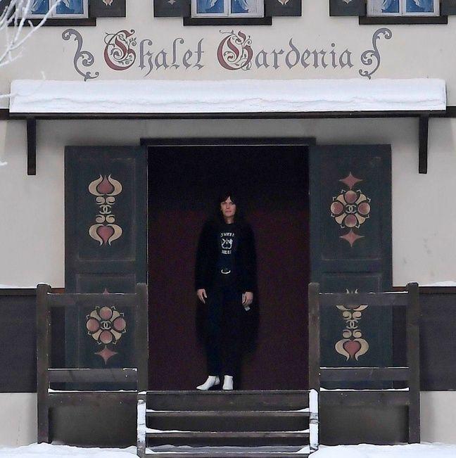 Virginie Viard lors du défilé Chanel ce mardi.