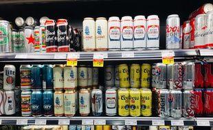 Bières réfrigérées (illustration).