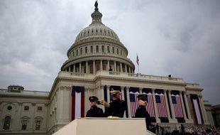Le Capitole à Washington, le 20 janvier 2017.