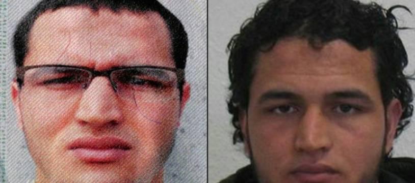 Anis Amri, suspect présumé de l'attentat au camion-bélier perpétré sur un marché de Noël à Berlin.