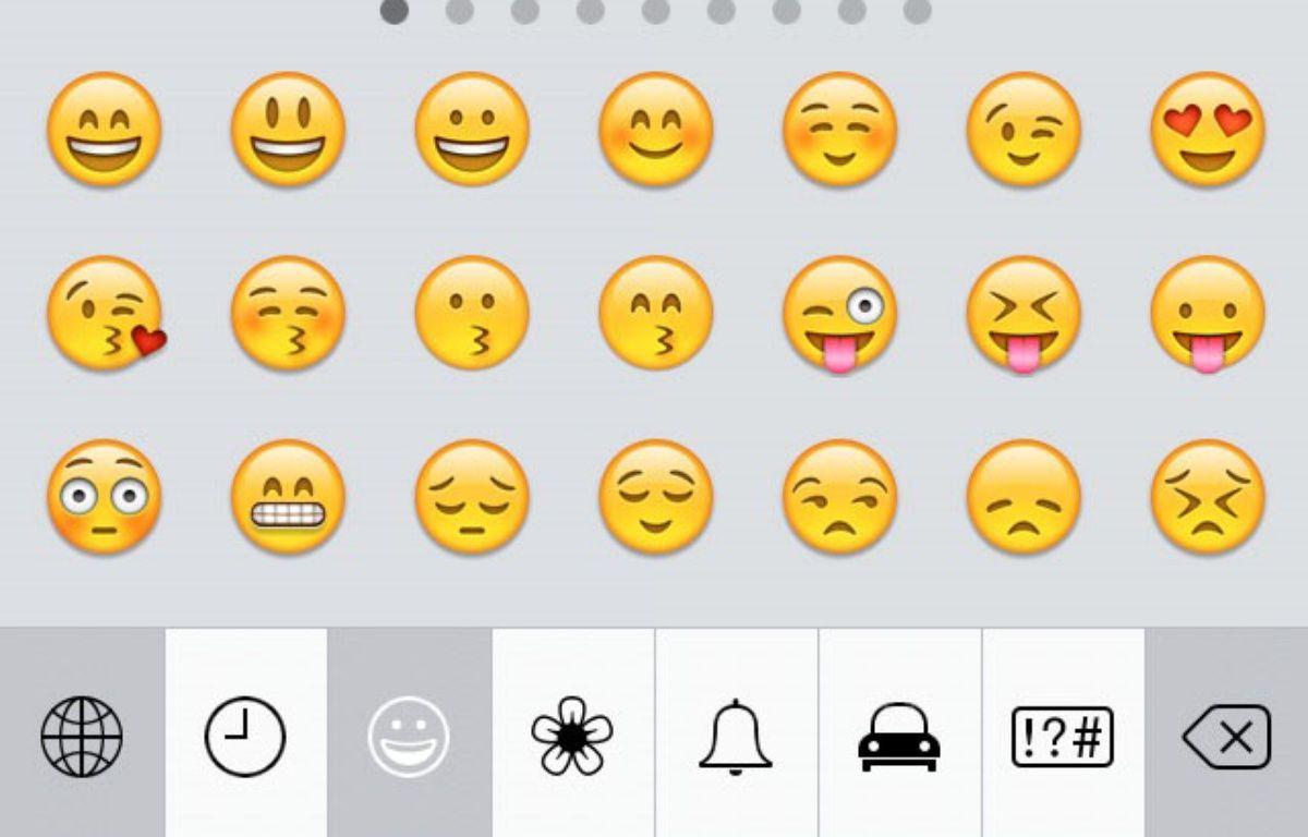 Liste d'émoticônes  – Emoji