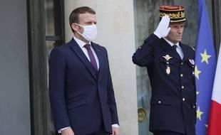 Emmanuel Macron a reçu la famille de Samuel Paty
