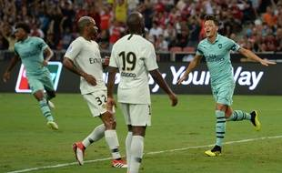 Papa Diarra et les titis du PSG prenne une rouste contre Arsenal (5-1).