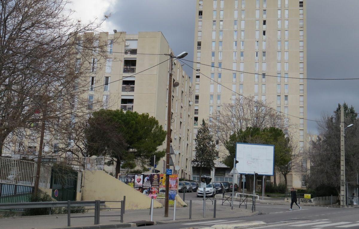 L'entrée de la cité de La Castellane. – M. Penverne/20 Minutes