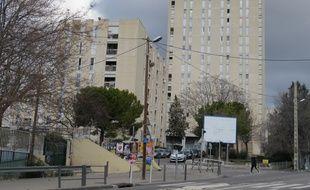 L'entrée de la cité de La Castellane.
