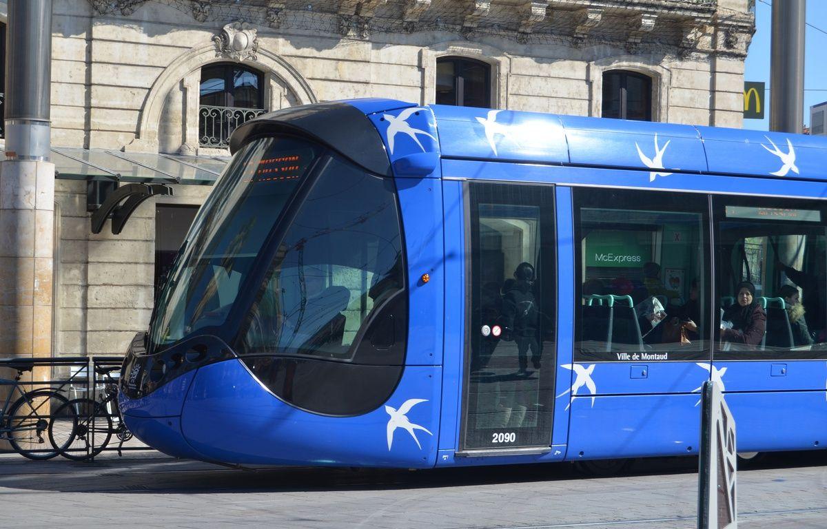 Le tramway à Montpellier (illustration). – N. Bonzom / Maxele Presse