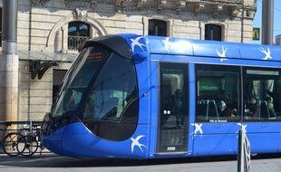 Les faits se seraient déroulés surla ligne 1 du tramway à Montpellier.