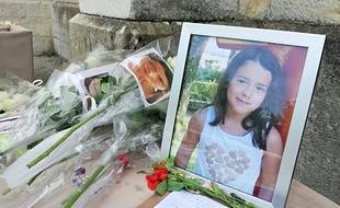 La Tour-du-Pin, le 2 juin 2018. Des centaines de personnes, proches ou anonymes ont assisté ce samedi aux funérailles de Maëlys, 8 ans, enlevée et tuée à Pont de Beauvoisin fin août 2017.