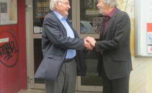 Rencontre fructueuse entre Patrick Fourreau et Jacques Cheminade.