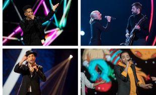 Lisandro Cuxi, les Madame Monsieur, Igit et Nassi, finalistes de «Destination Eurovision».