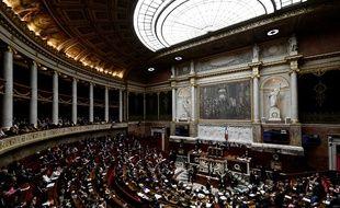 L'Assemblée nationale, le 29 mai 2018.