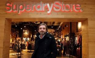 Julian Dunkerton, cofondateur de la marque de vêtements britannique Superdry, en décembre 2010 à Londres.