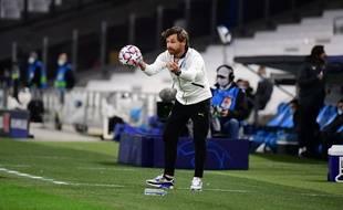Andre Villas Boas lors du match face à Manchester City, en phase de poules de Ligue des champions.