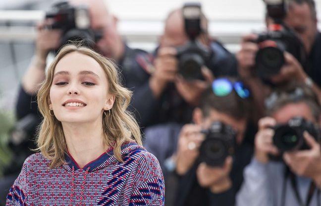 Lily-Rose Depp à Cannes le 13 mai 2016