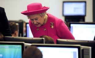 La reine Elizabeth II  le 6 novembre 2009.