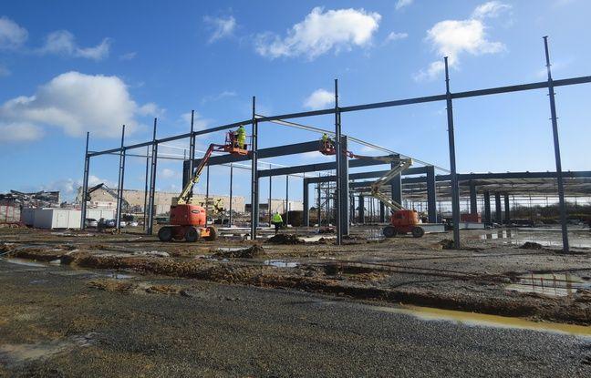 Le futur entrepôt de la Poste doit ouvrir en septembre 2019 Carquefou