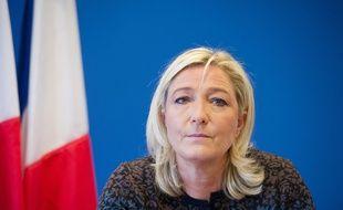 Marine Le Pen à Nanterre le 7 novembre 2014. /Credit:WITT/SIPA/1411071406