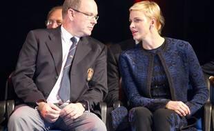 Le prince Albert II et Charlene de Monaco