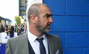 Eric Cantona le 16 juin 2019, lors d'un match en faveur de l'Unicef à Londres.