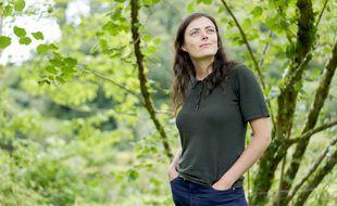 La journaliste Inès Léraud est l'autrice d'une bande dessinée consacrée au scandale des algues vertes en Bretagne.