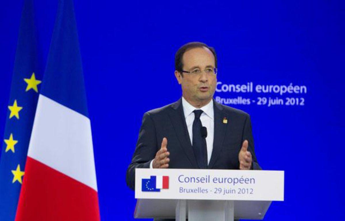 François Hollande lors du sommet européen de Bruxelles, les 28 et 29 juin derniers – DENIS CLOSON/ISOPIX/SIPA
