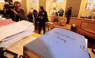 Procès en appel de Tony Meilhon à Rennes le 18 novembre 2014.