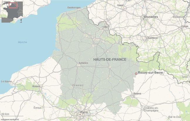 La commune de Rozoy-sur-Serre, dans l'Aisne.