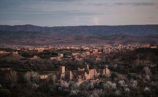 Des villages de la région marocaine du Haut-Atlas (illustration).