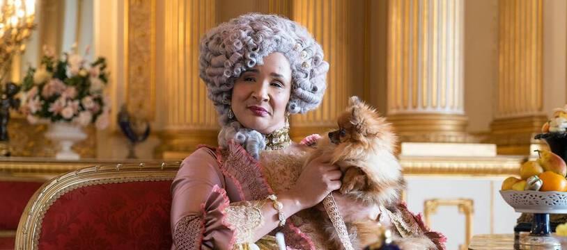 L'actrice Golda Rosheuvel en reine Charlotte dans «La Chronique des Bridgerton»