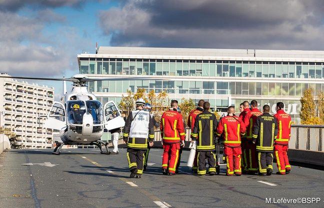 Un blessé grave a été évacué par hélicoptère pour être hospitalisé.