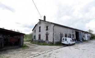 La maison de Montzéville (Meuse), dans laquelle le ravisseur présumé de Berenyss a été interpellé, mardi 28 avril.