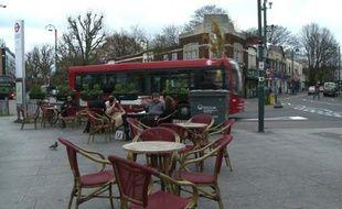 Londres: le quartier de Leytonstone au lendemain de l'attaque