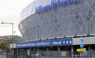 Le stade de Nice l'Allianz Riviera.