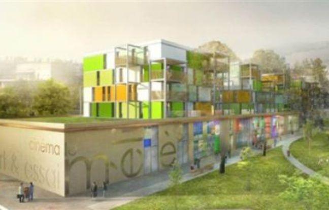 Le Méliès ouvrira ses portes dans le quartier de Bonne en novembre 2011 (perspective).
