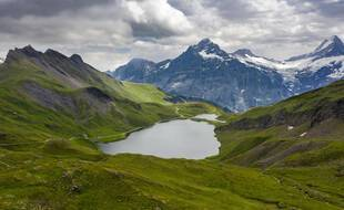 Une vue des Alpes
