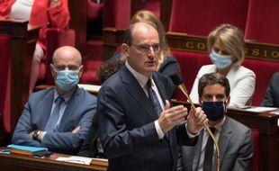Le Premier ministre Jean Castex à l'Assemblée nationale le mercredi 8 juillet 2020.