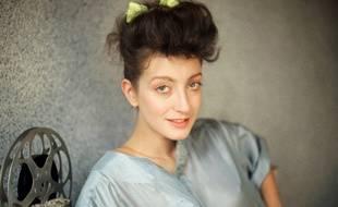 L'actrice Pascale Ogier, en mars 1984.