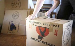 Faire ses cartons lors d'un déménagement demande un peu d'organisation.