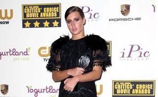 Adele Exarchopoulos aux Critics Choice Awards le 16 janvier 2014